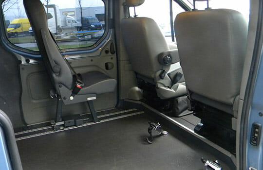 interieur rolstoelbus