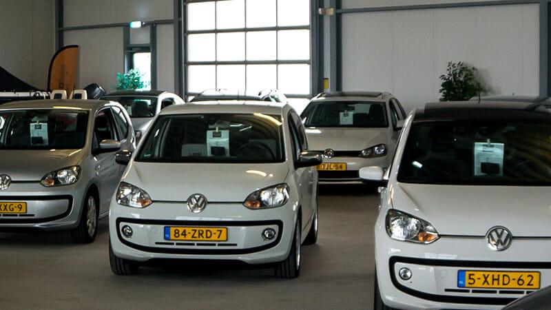 gewone auto's bij Kikkert